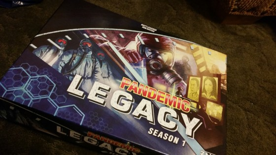 Pandemic Legacy Season 1 January-February Review