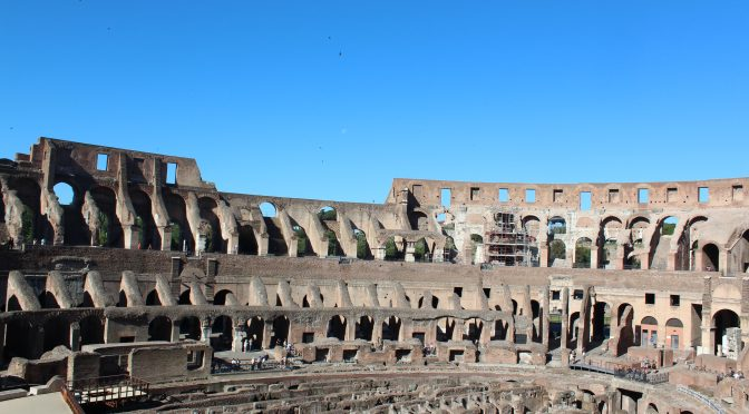 Italy Day 2–Rome–The Colosseum.