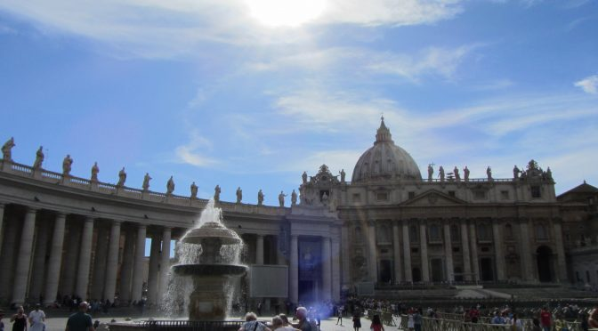 Italy–Day 1–The Vatican.