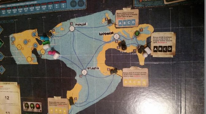 Finally! Pandemic Legacy Season 2!!!–January Game.