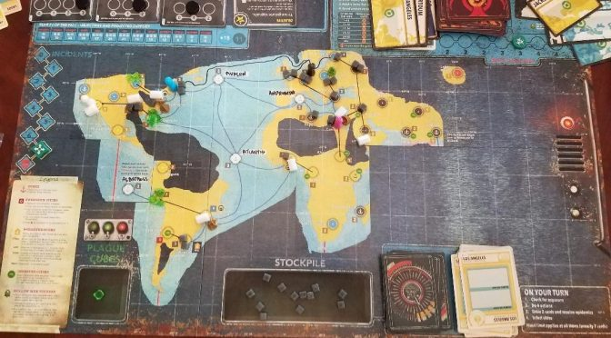 Pandemic Legacy 2: July & August.