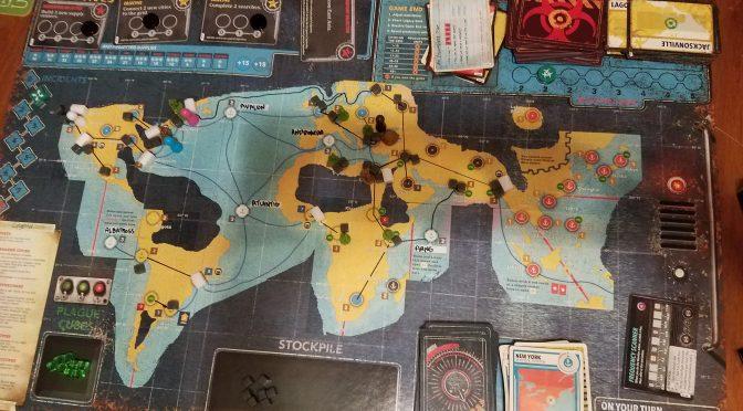 Pandemic Legacy 2: September
