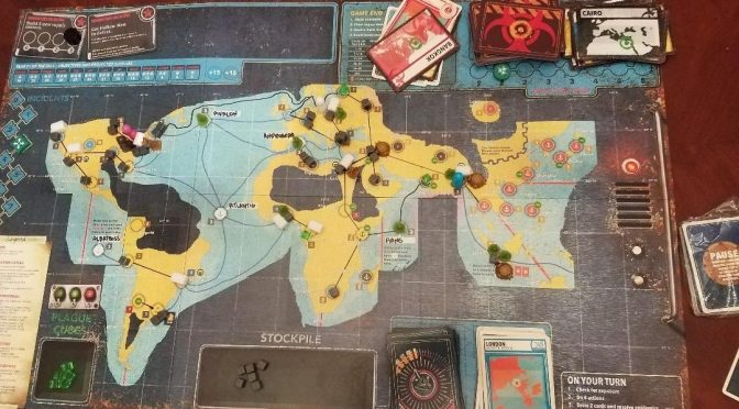 Pandemic Legacy 2: October and November